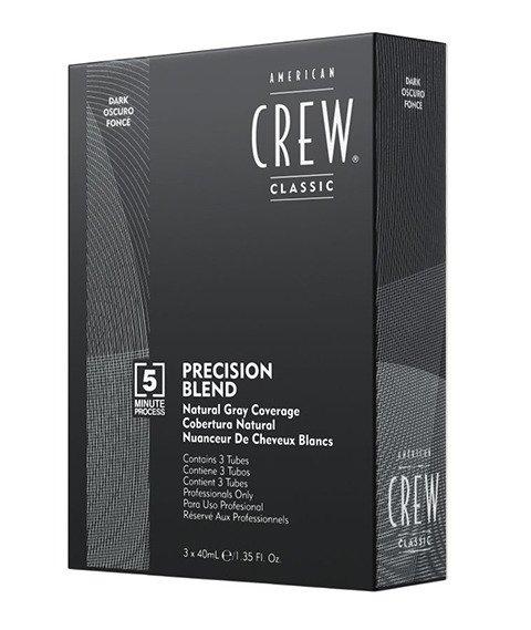 American Crew-Precision Blend Farba Odsiwiacz do Włosów Dark