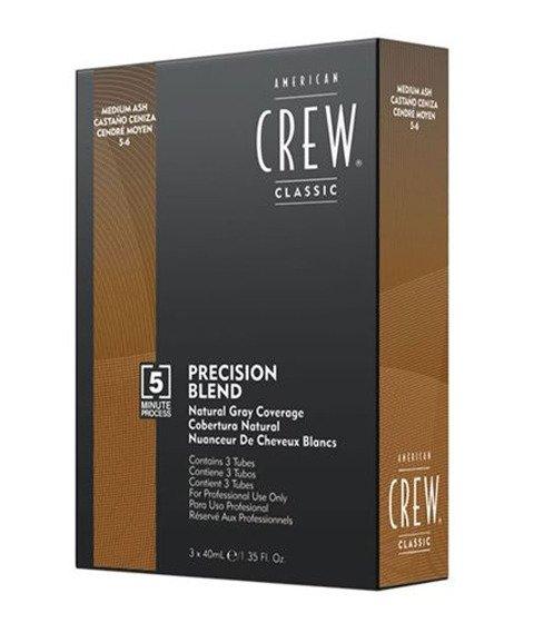 American Crew-Precision Blend Farba Odsiwiacz do Włosów Medium Ash