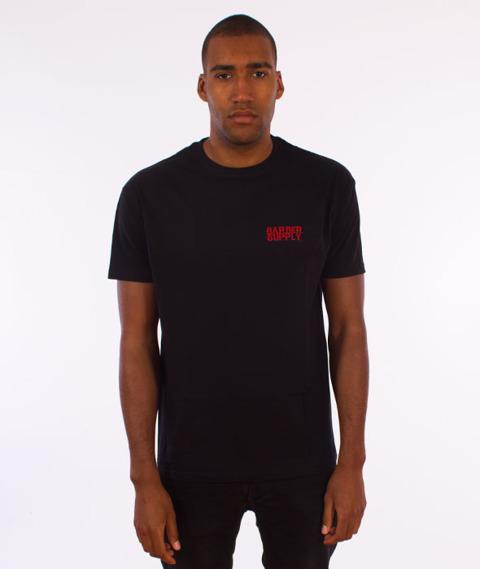 Barber Supply-Rose T-Shirt Black