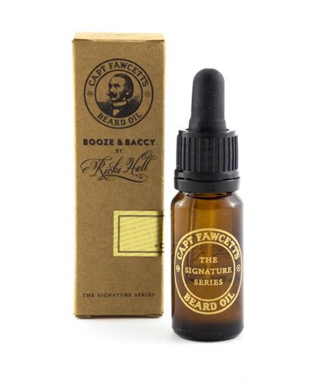 Captain Fawcett's-Ricki Hall's Booze & Baccy Beard Oil Olejek do Brody 10 ml