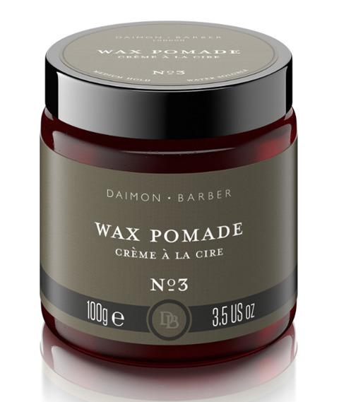 Daimon Barber - No3 Wax Pomade Pomada do Włosów 100g