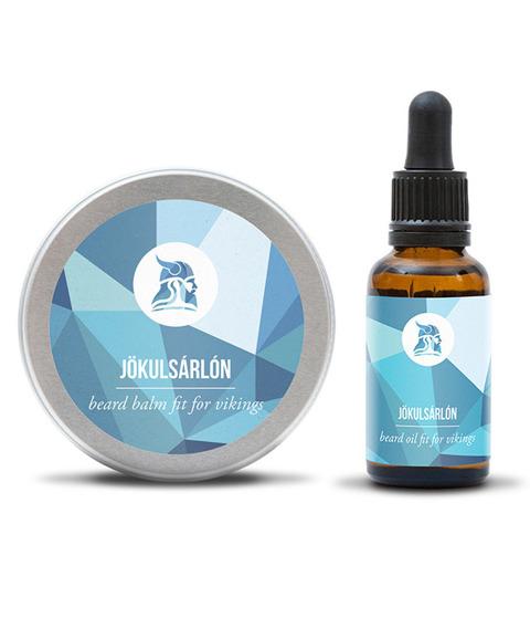 Fit For Vikings-Beard Oil & Balm Kit Zestaw Brodacza