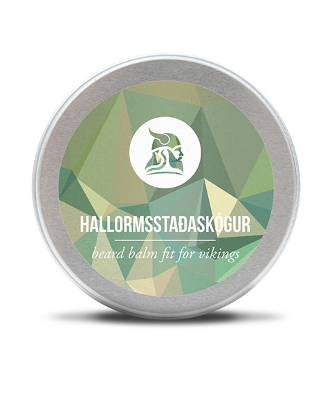 Fit for Vikings - Hallormsstaðaskógur Beard Balm Balsam do Brody 60ml