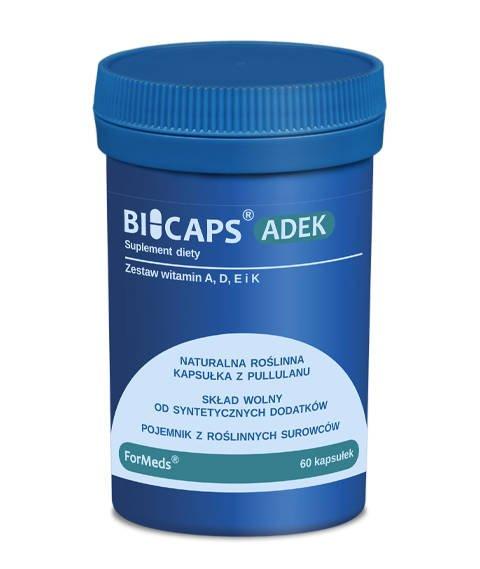 ForMeds-BICAPS ADEK Suplement Diety z Kompleksem Witamin ADEK i Inuliną 60 kapsułek