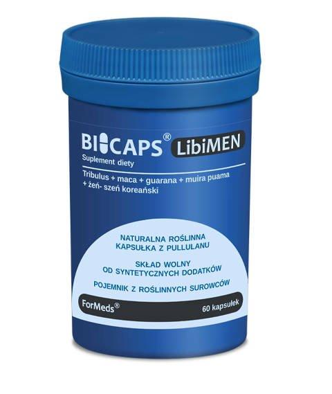 ForMeds-BICAPS LibiMEN Suplement Diety Poprawiający Libido 60 kapsułek