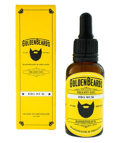 Golden Beards-Beard Oil Big Sur Olejek do Brody 30ml