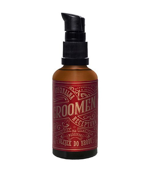 Groomen-Olejek do Brody Fire 50 ml