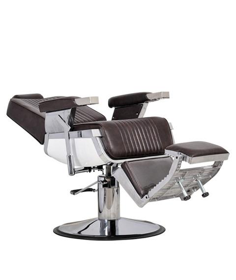 Italpro-Fotel Fryzjerski Barber Brąz