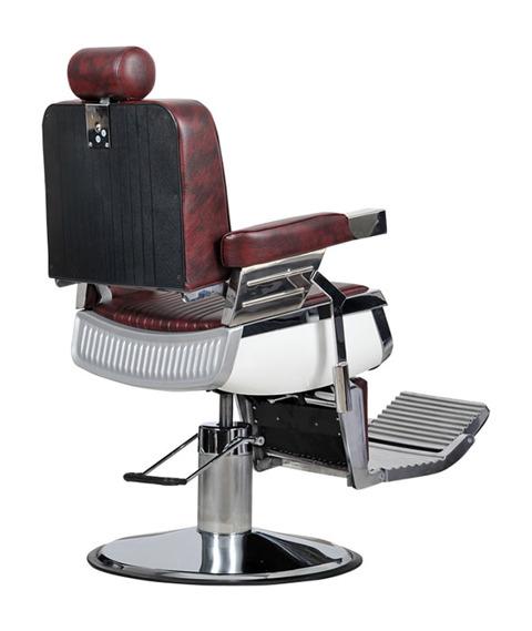 Italpro-Fotel Fryzjerski Barber Bordo