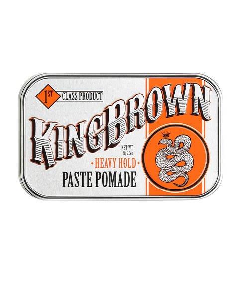 King Brown-Heavy Hold Paste Pomade Matowa Pomada do Włosów 71g
