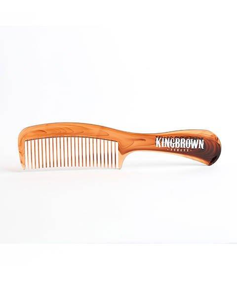 King Brown-Tort Handle Comb Grzebień do Włosów
