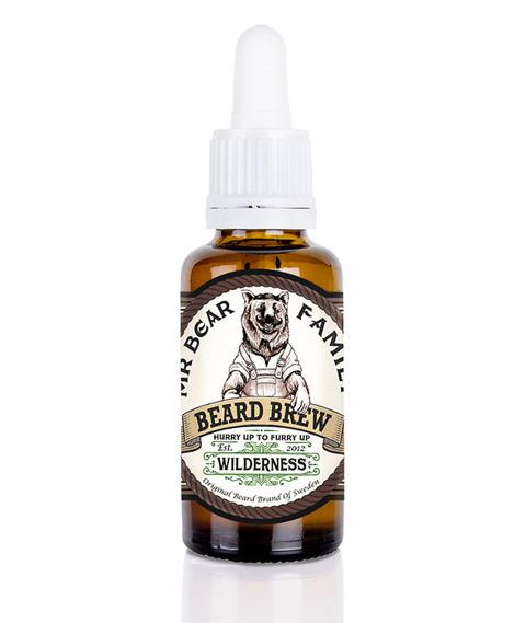 Mr Bear-Beard Brew Oil Wilderness Olejek do brody 30 ml