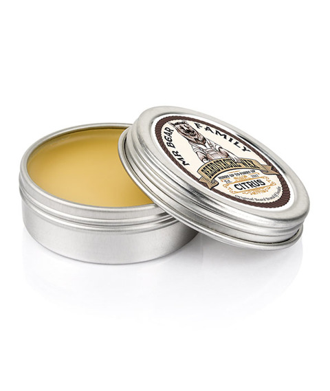 Mr Bear-Beardstache Wax Citrus Wosk do Zarostu 30 ml