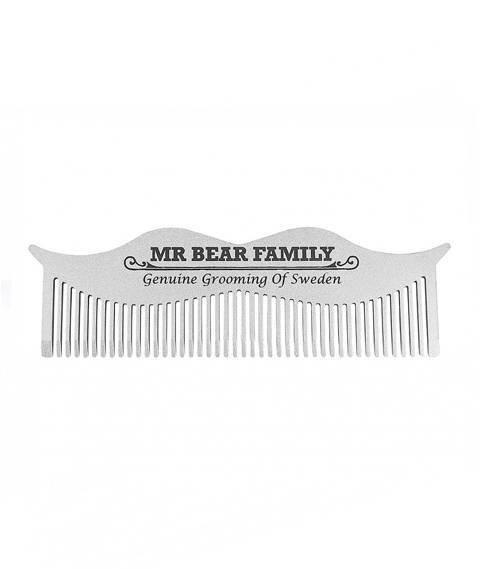 Mr Bear-Moustache Comb Grzebień do Wąsów