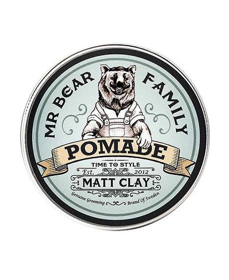 Mr Bear-Pomade Matt Clay Springwood Pomada 100ml