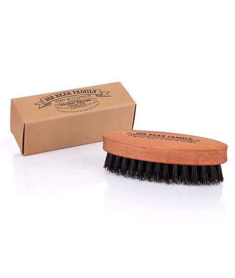 Mr Bear-Wooden Boar Beard Brush Small Szczotka do Brody