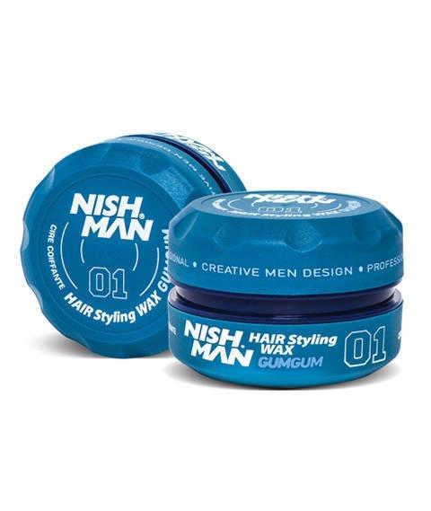 Nishman-01 Hair Styling Wax GumGum Pomada do Włosów 150 ml