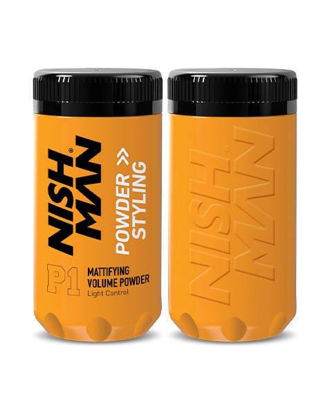 Nishman-Mattifying Volume Powder Puder do Stylizacji Włosów 20 g