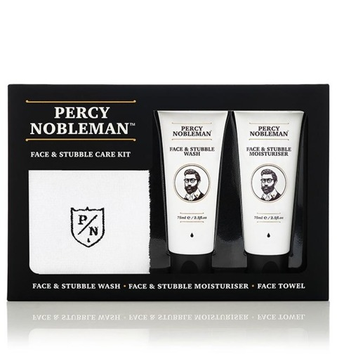 Percy Nobleman-Face & Stubble Kit Zestaw