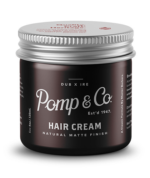 Pomp & Co.-Hair Cream Matowa Pasta do Włosów 120ml