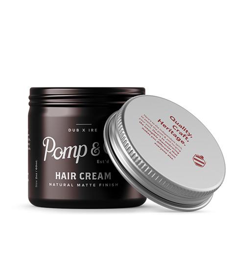 Pomp & Co.-Hair Cream Matowa Pasta do Włosów 60ml