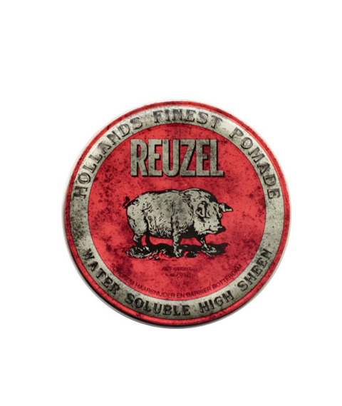 Reuzel-Red Water Soluble High Sheen Pig 113g