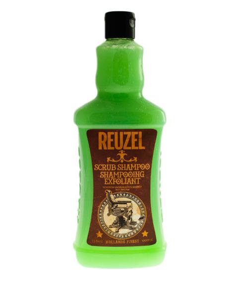 Reuzel-Scrub Shampoo Oczyszczający Szampon do Włosów XL 1L.