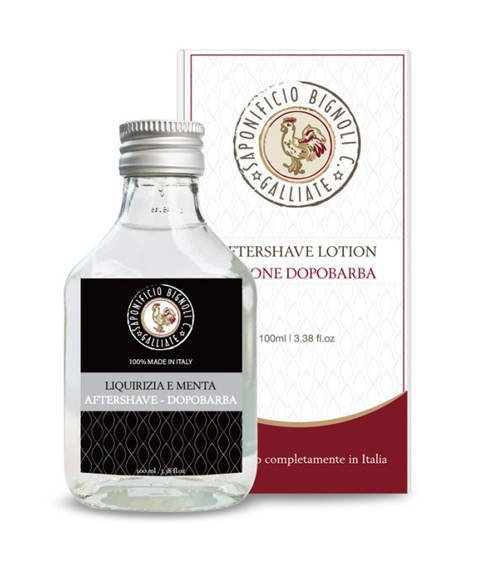 Saponificio Bignoli Carlo-Aftershave Lotion Liquirizia e Menta Woda po Goleniu 100 ml