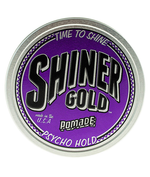 Shiner Gold-Psycho Hold Pomade Pomada do Włosów 113g