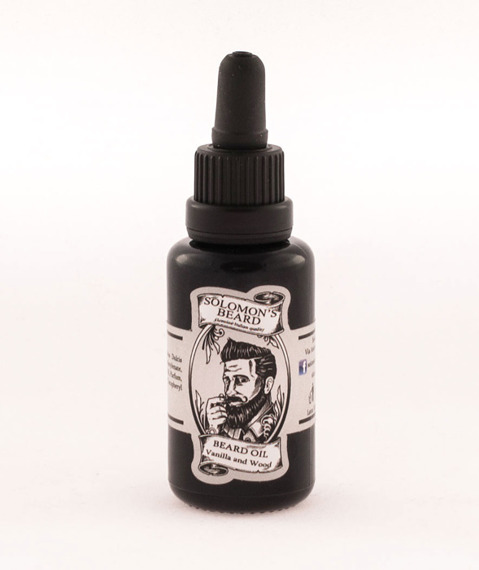 Solomon's Beard-Oil Vanilla & Wood Olejek do brody 30 ml