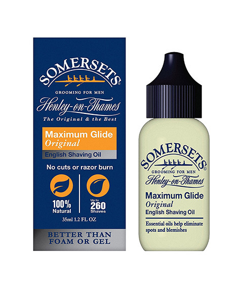 Somersets-Original+Argan Shaving Oil Olejek do Golenia 35ml