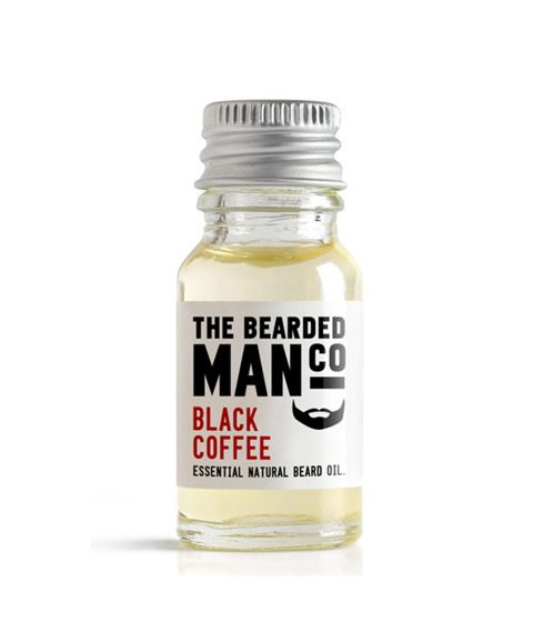 The Bearded Man-Black Coffee Beard Oil Olejek Do Brody 10ml