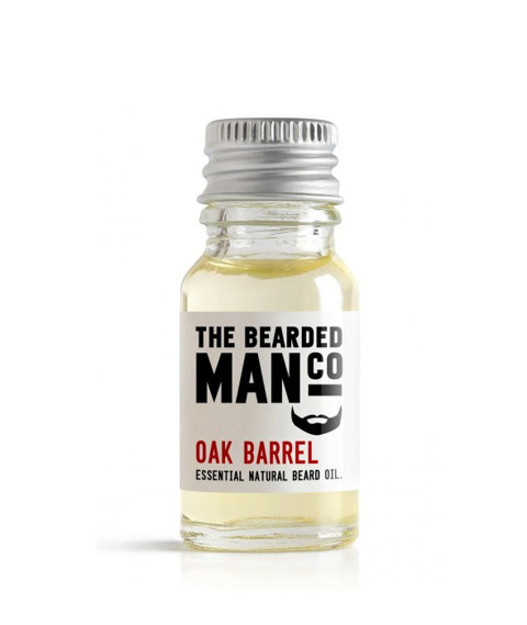 The Bearded Man-Oak Beard Oil Olejek Do Brody 10ml