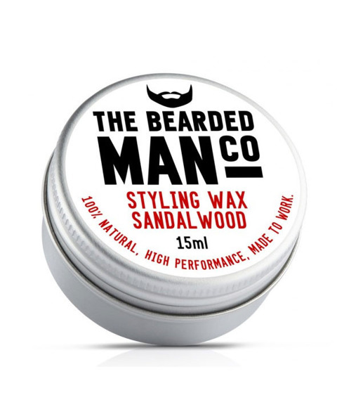 The Bearded Man-Sandalwood Moustache Wax Wosk do Wąsów 15g