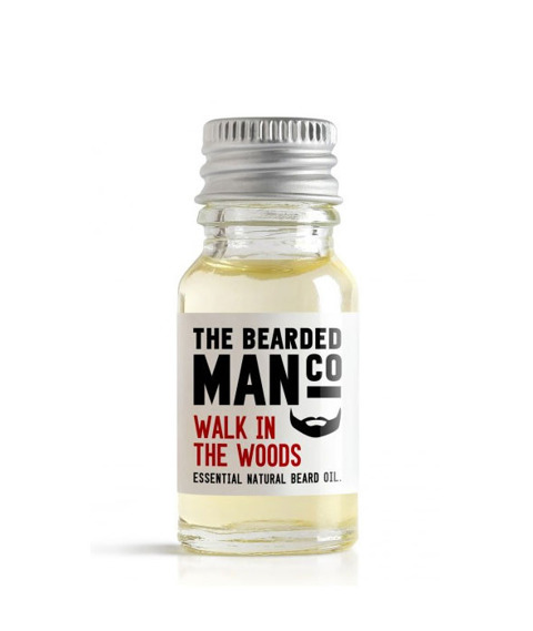 The Bearded Man-Walk in the Woods Beard Oil Olejek Do Brody 10ml