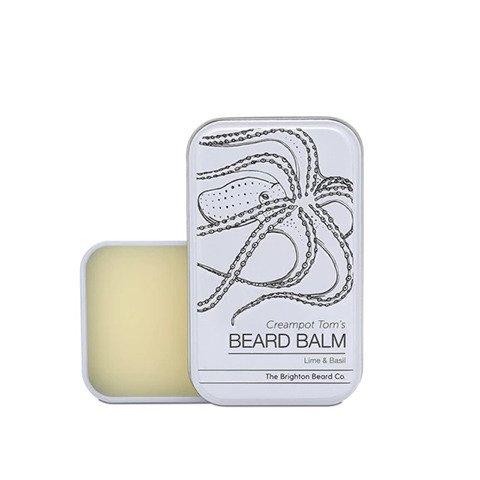 The Brighton Beard Co-Creampot Tom's Beard Balm Lime And Basil Balsam do Brody 30ml