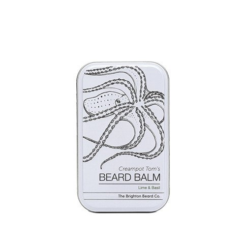 The Brighton Beard Co-Creampot Tom's Beard Balm Lime and Basil Balsam do Brody 80ml