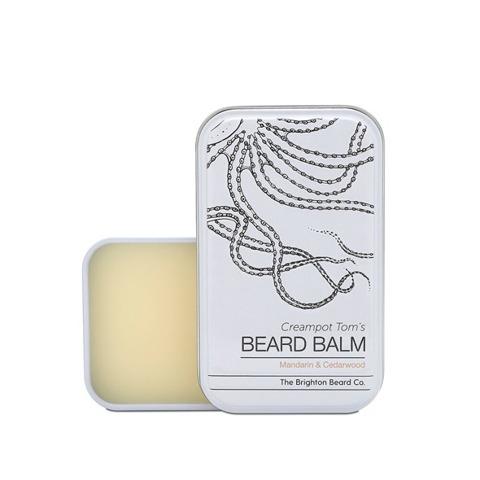 The Brighton Beard Co-Creampot Tom's Beard Balm  Mandarin And Cedarwood Balsam do Brody 80ml