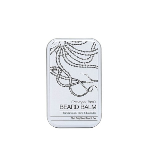 The Brighton Beard Co-Creampot Tom's Beard Balm Sandalwood, Elemi & Lavender Balsam do Brody 40ml
